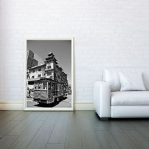 Chinatown, San Francisco, Prints & Posters, Wall Art Print, Poster Any Size - Black and White Poster